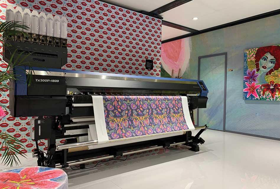 Hybrid Services: Mimaki digital printers