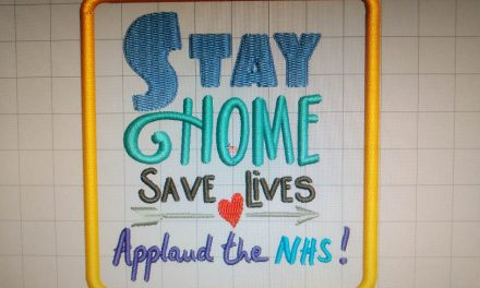 Creative Needle offers free embroidery design in support of NHS