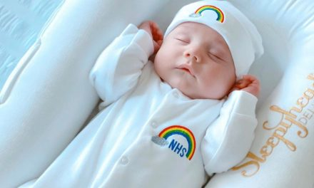 A little thank you: Mini Kings and Queens creates rainbow NHS baby grows