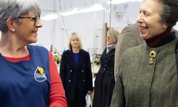 HRH The Princess Royal sends a message of support to UK fashion and textile industry