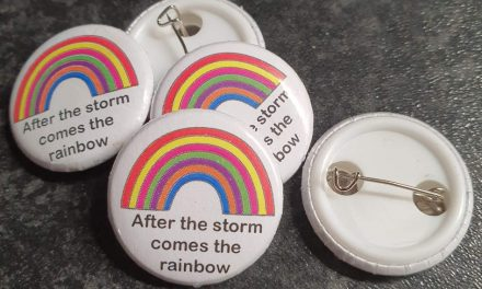 Retro Alley creates rainbow pin badges to raise money for charity
