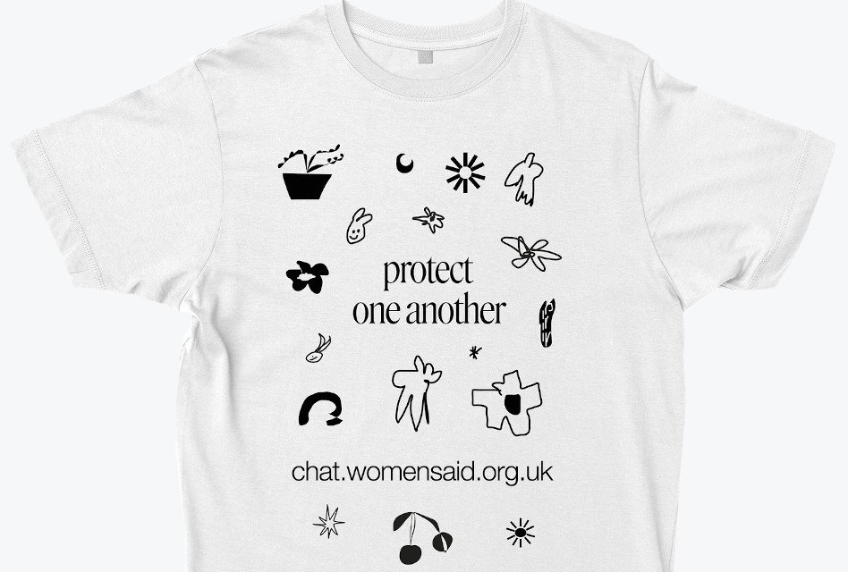 Everpress supports Women's Aid's Silent Solution T-shirt fundraising campaign