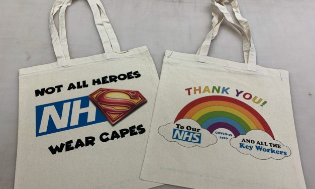 Show your support: Your Style Design creates T-shirts and tote bags to fundraise for the NHS