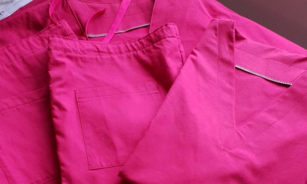Nipa Threads sews scrubs for key workers