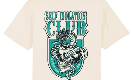 Squeegee & Ink fundraises for local businesses with self-isolation themed tees