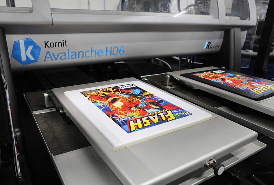 Shirt Monkey supports expansion with new Kornit Avalanche HD6 and bigger premises