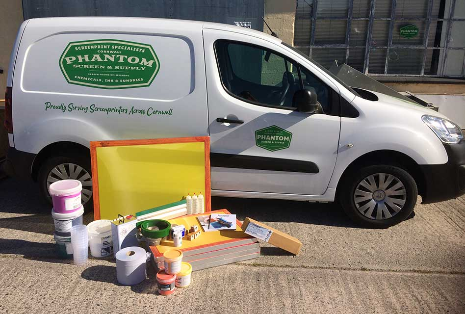 Phantom Screenprint launches new screen restretching and screen print supplies service
