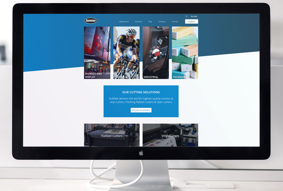Summa introduces new website