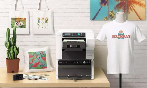 Win a Ricoh Ri 100 DTG printer