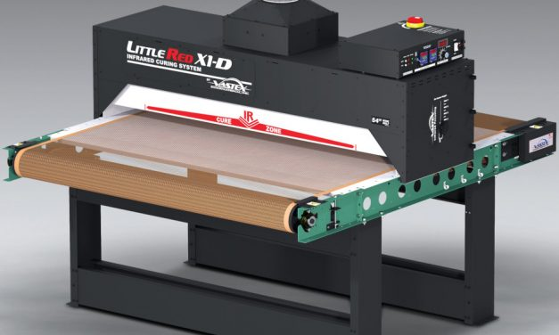 Vastex introduces compact DTG-capable conveyor dryer with 137cm width