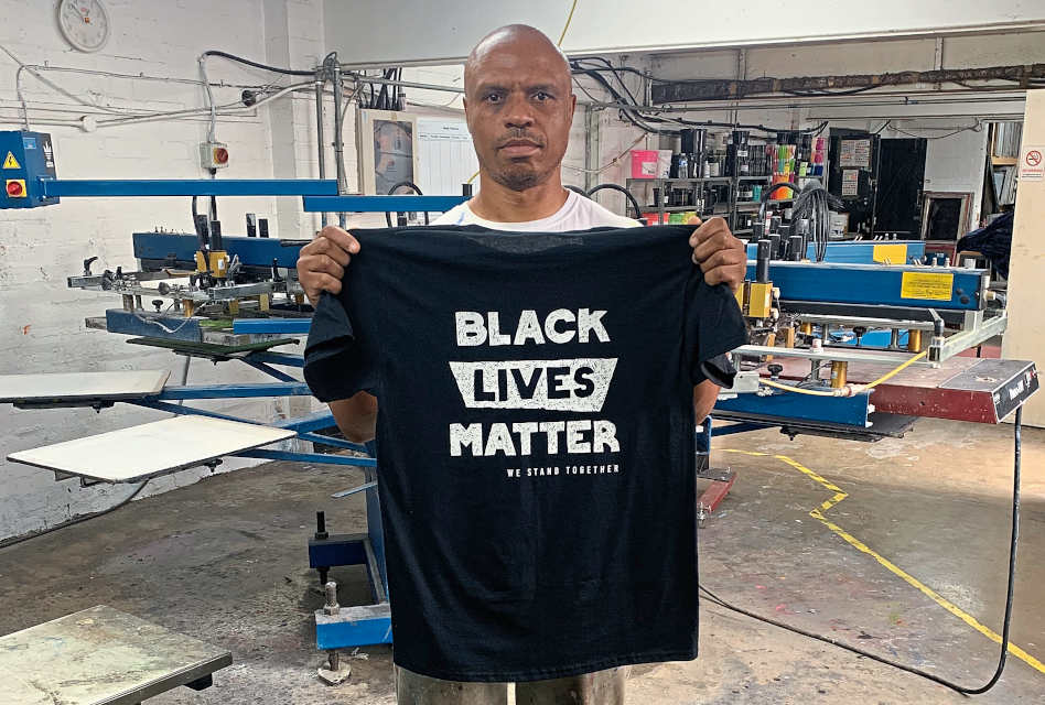 Black Lives Matter T-shirt by Prints and Promotions