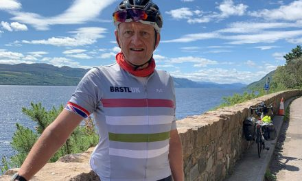 PenCarrie MD takes on charity fundraising cycle ride from John O'Groats to Land's End