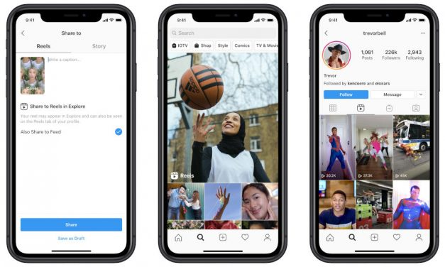 Instagram introduces Reels for creating and sharing videos