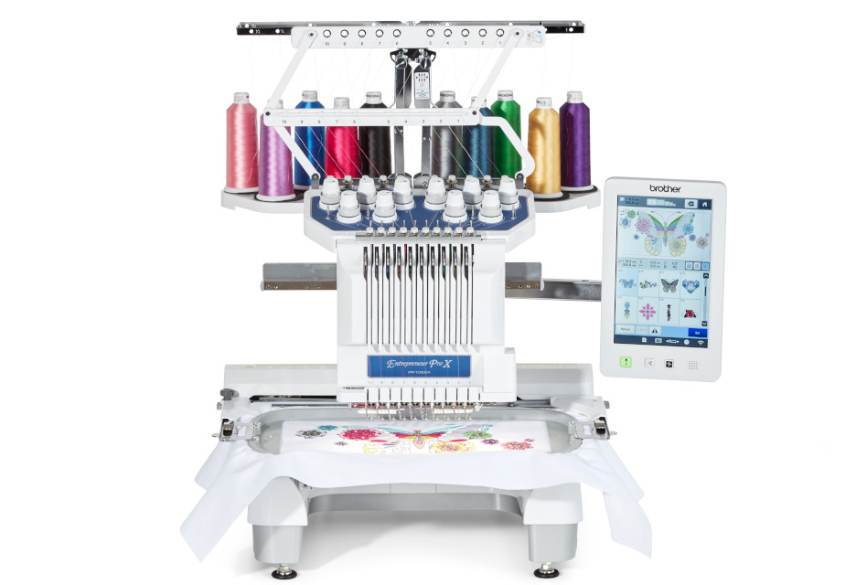 Brother introduces Entrepreneur PR1055X 10-needle commercial embroidery machine