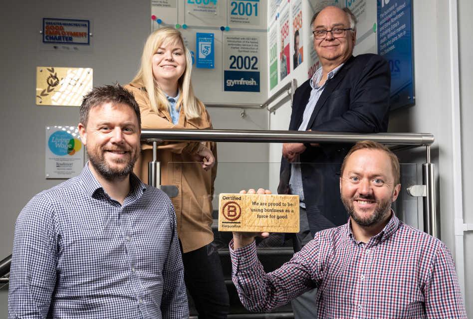 Rowlinson achieves B Corporation certification