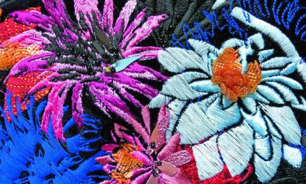 Anatomy of an embroidery: Japanese-inspired jacket