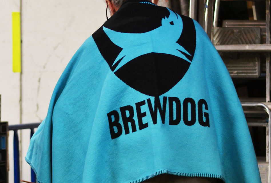 BrewDog Blankets from The Cotton Textile Company