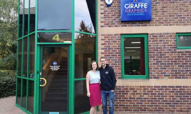 Giraffe Graphics moves to new premises