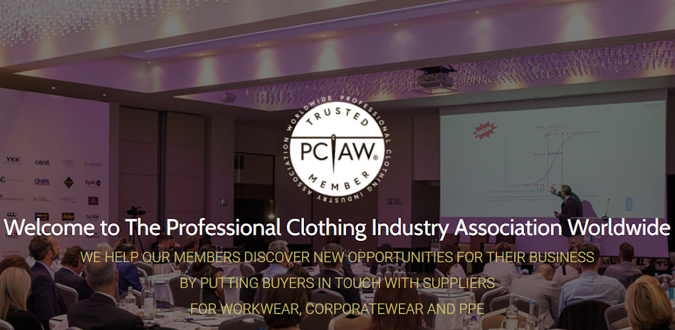 PCIAW introduces new upgraded website for professional clothing industry