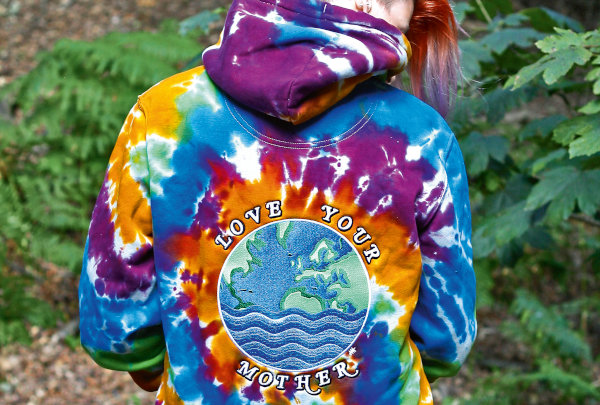 Anatomy of an embroidery: Tie-dye Hoodies