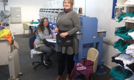 Nith Valley Embroidery receives South of Scotland Enterprise grant