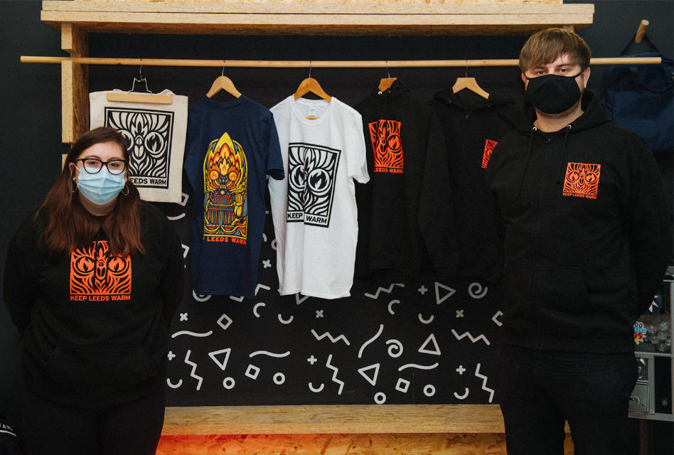 Awesome Merchandise launches fundraising campaign to support local homeless charity