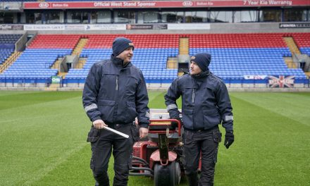 Dickies trials new Advanced Waterproof Technology at Bolton Wanderers FC