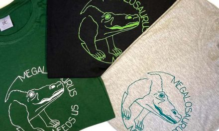 Crystal Palace Dinosaurs T-shirts by Boho and Bowie