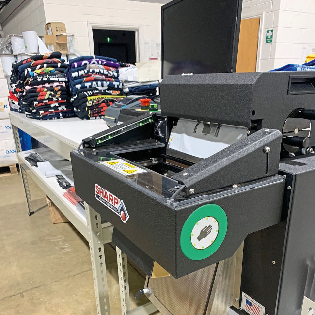The Pregis bagging machine