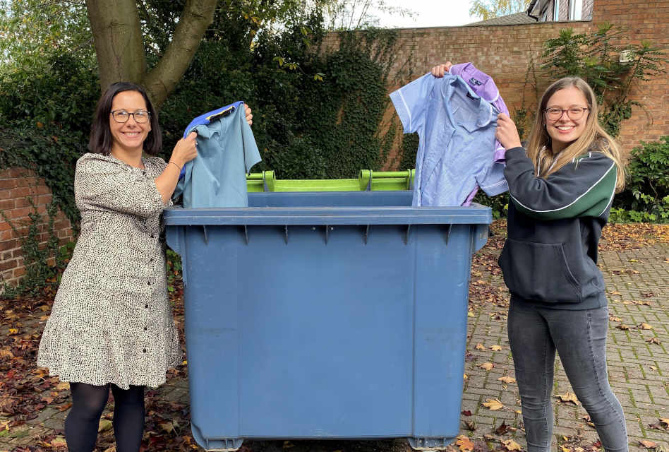 Grahame Gardner introduces uniform recycling service