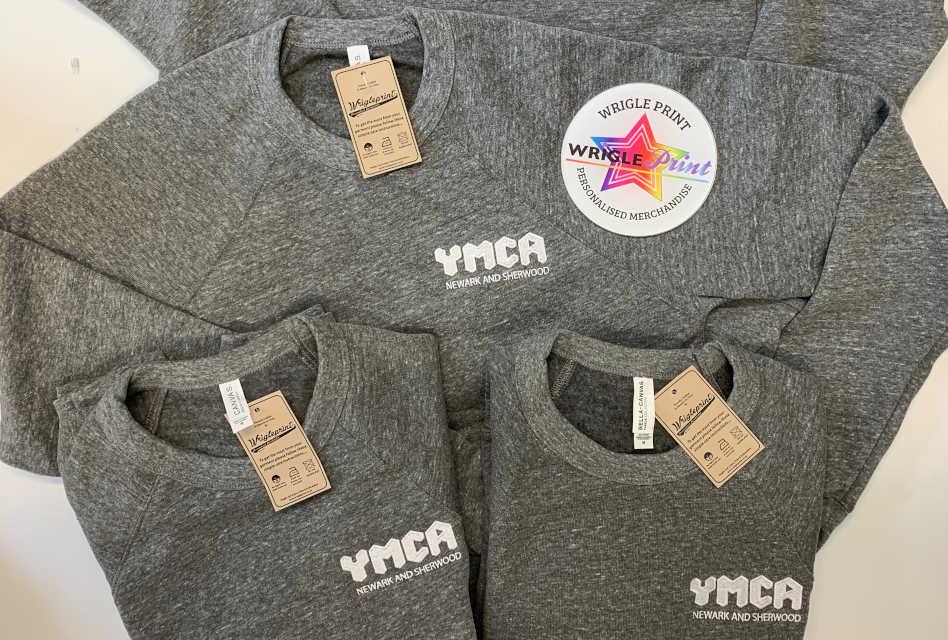 YMCA Newark & Sherwood workwear from Wrigleprint