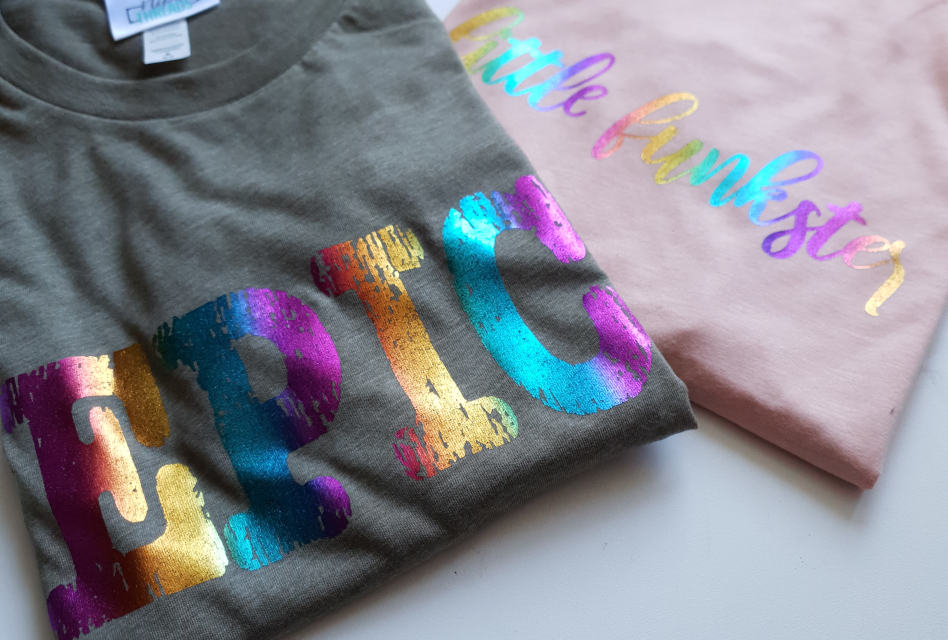 Rainbow slogan clothing from Nipa Threads
