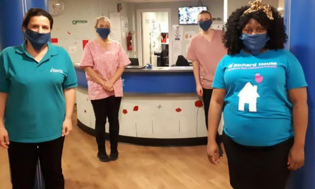 Screenworks supports Richard House Children's Hospice with face mask donation