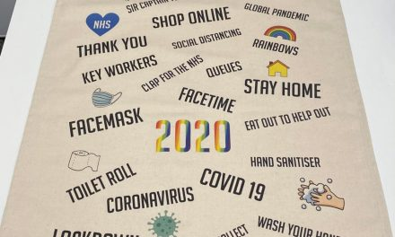 CreativeWear & Embroidery's '2020 Memories' tea towels and tote bags