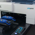 Polyprint introduces 2-in-1 snap-on face mask platen