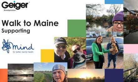 Geiger raises £1550 for Mind with virtual 'Walk to Maine'
