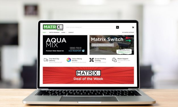 Launch of Matrix Inks for UK screenprinting industry