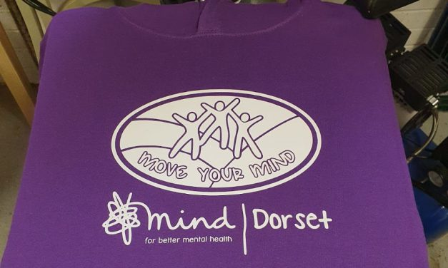 Dorset Mind T-shirts & hoodies printed by Barritt Garment Printing