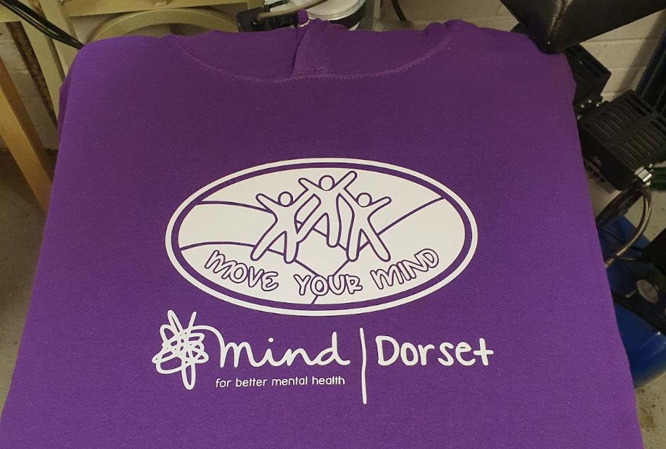 Dorset Mind T-shirts & hoodies printed by Barritt Garment Printing