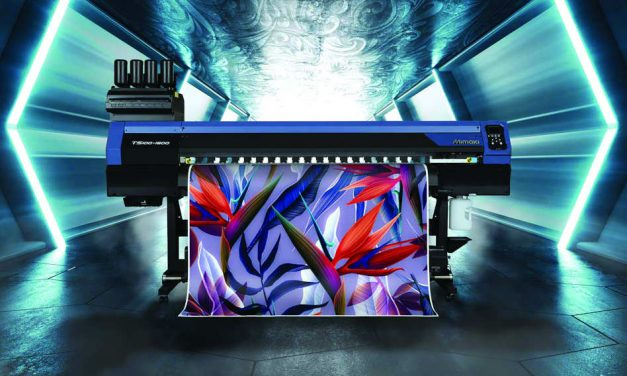 Hybrid introduces new Mimaki TS100-1600 textile printer