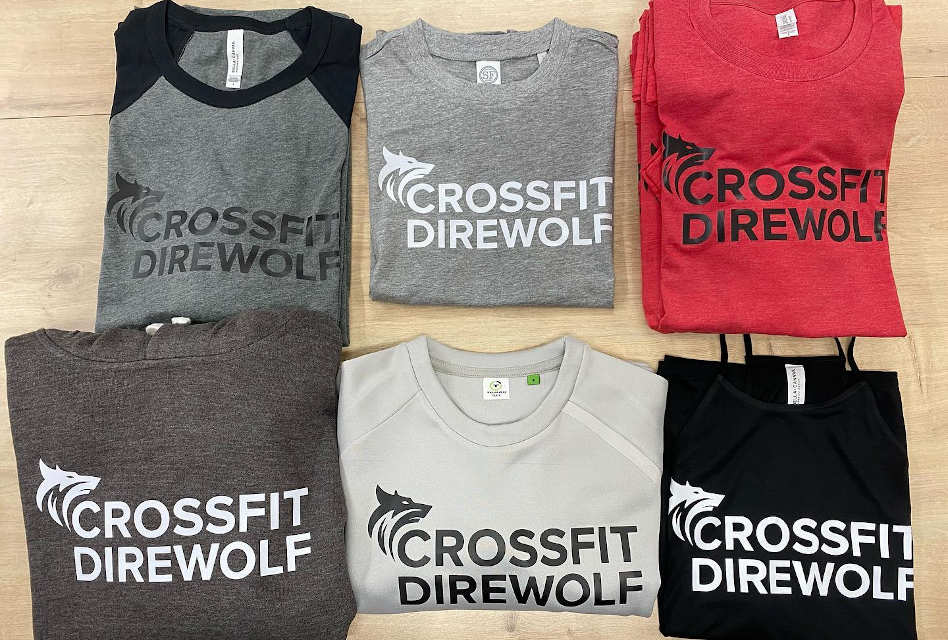 Crossfit clothing printed for Colchester Fitness Centre by Printing on Sea