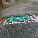 Embroidered hoodies for PTSD UK by Your Custom Clothing