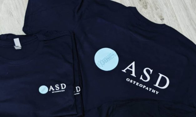 ASD Osteopathy workwear by Elephant Boy Printing