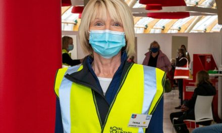 Workwear Express outfits Covid-19 vaccination volunteers