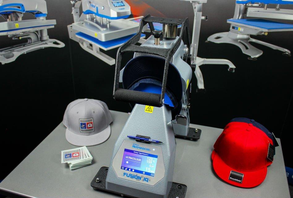 Target Transfers now shipping Hotronix 360 IQ Hat Press