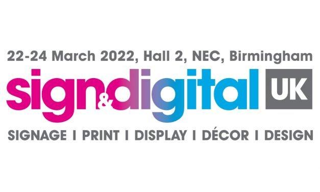 Sign & Digital UK postponed to March 2022