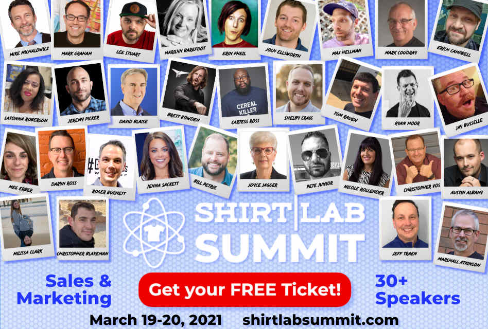 Register now for 2021 Shirt Lab Summit