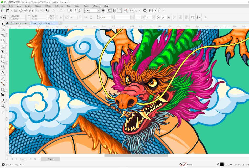 New CorelDraw Graphics Suite 2021