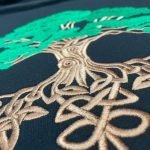 Tree of Life embroidery by Vivid Stitches