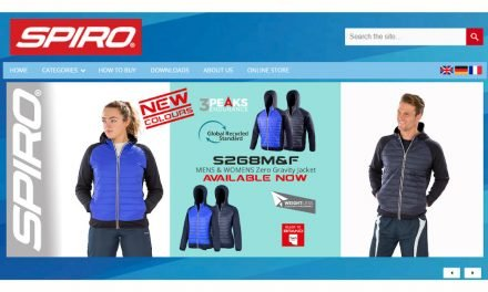Spiro Activewear introduces new multilingual website